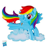 MLP Rainbow Dash/Clouds Personalized Christmas Tree Ornament