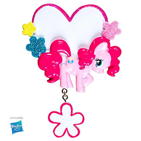MLP Pinkie Pie Heart Personalized Christmas Tree Ornament