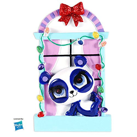 LPS Penny Ling In Window Personalized Christmas Tree Ornament