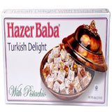 Hazer Baba Turkish Delight With Pistachio, 16oz Home Grocery Product