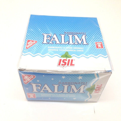 Sugarless Falim Plain Gum - Carbonate & Mint Grass Flavoured - 100 pcs