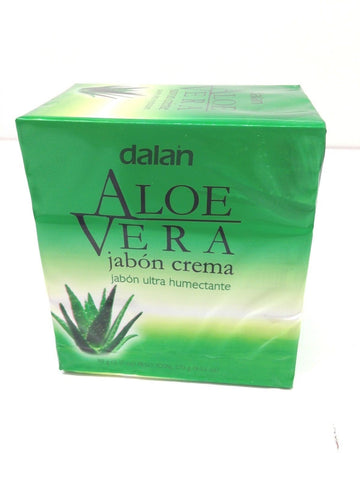 3 Pack Dalan Bar Soap Aloe Vera Cream Soap Ultra Moisturizing Bar Soaps 9.52 oz