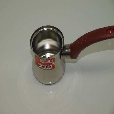 Turkish Coffee Pot Stainless Steel Ideal for 3 people