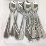 Stainless Steel Turkish Tea, Coffee Small Spoon Set Of 12 - BEST QUALITY AK-BL-B