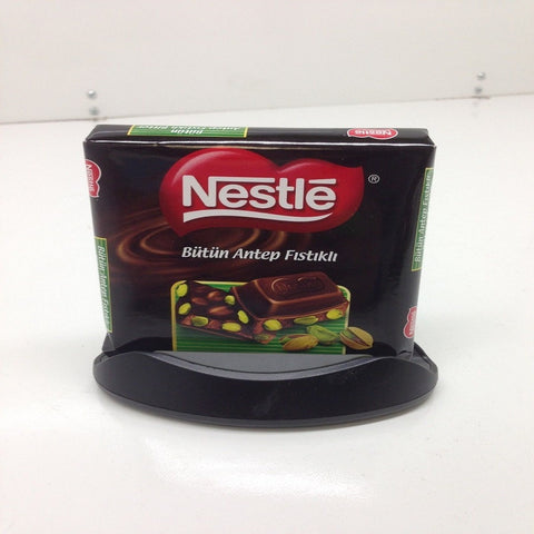 Nestle Bitter Chocolate with Pistachio 80g - Halal Made in Turkey - Fistikli Bitter Cikolata
