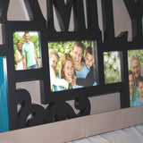 Melannco Family Frame 5 Opening Collage - There Is A Little Scratch On It Comes With Original Box