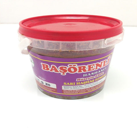 Poppy Paste, Turkish Poppy Paste, Hashas Ezmesi, 500 g, Basorenli