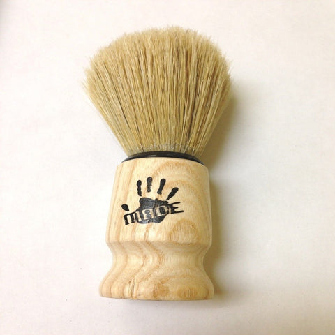 Men's Shaving Brush with Wood Handle Imported From Turkey-Made of Horse Hair