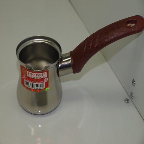 Turkish Coffee Pot Stainless Steel Ideal for 2 people
