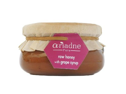 Ariadne Pure H-grape Ariadne Pure Raw Honey with Grape Syrup - 1x8.8Oz …