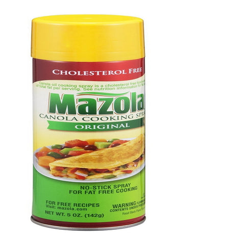 Mazola Cooking Spray, 5 OZ (Pack of 12)