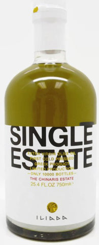 Iliada Single Estate Olive Oil Series - The Chinaris Estate 25.4 Oz ( 750 ML )