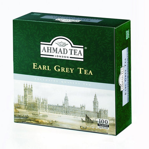 Ahmad Tea Early Grey Tea 100 Tea Bags 200 G