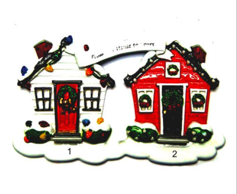 From Our House To Yours Neighbor Personalized Christmas Tree Ornament