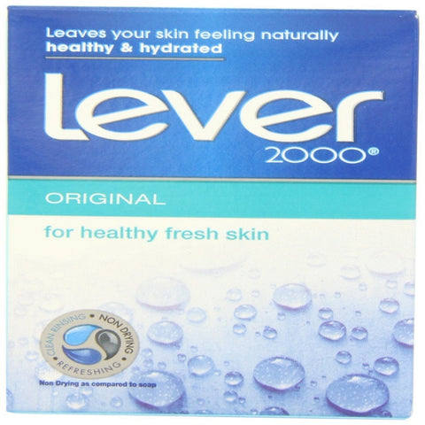 Lever 2000 Moisturizing Bar, Original, 4 Ounce Bars in 16 Count Packages (Pack of 2)
