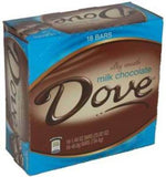 Dove Milk Chocolate Bars Silky Smooth 18 Count of 1.44 Oz Bars