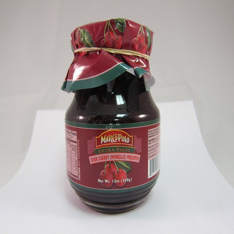 Marco Polo Sour Cherry Preserves - 13oz