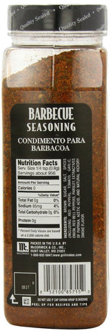 McCormick Grill Mates Barbecue Seasoning, 27-Ounce