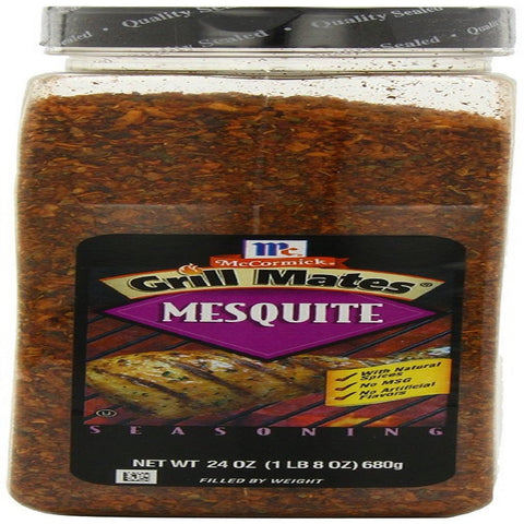 McCormick Grill Mates Seasoning, Mesquite, 24-Ounce