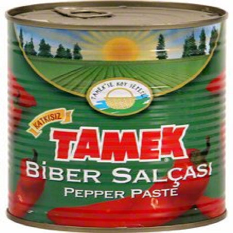 Tamek Biber Salcasi ACISIZ / Pepper Paste MILD - 820 gr / Can
