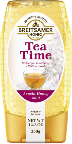 Breitsamer Honey in Plastic Squeeze Bottle, Acacia Tea Time, 12.35 Ounce  from Breitsamer
