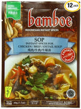 Bamboe Sop Chicken, Beef and Oxtail Soup, 1.7-Ounce (Pack of 12)
