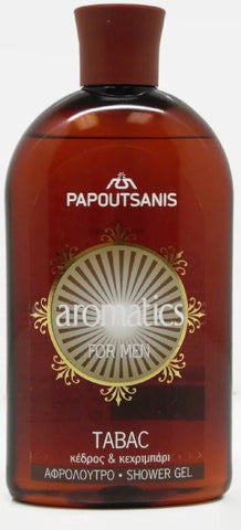 Papoutsanis Shower Gel 500 Ml (TABAC)