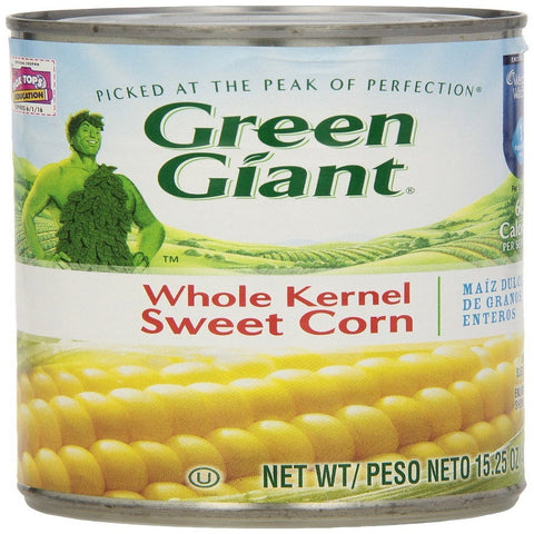 Green Giant Whole Kernel Sweet Corn, 15.25 Oz