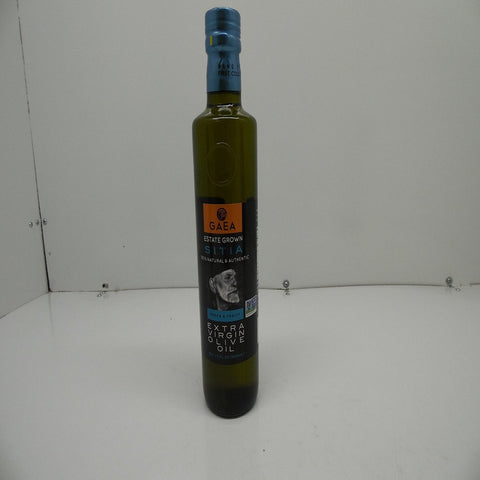 GAEA Estate Grown Sitia 100% Natural & Authentic Extra Virgin Olive Oil,17oz
