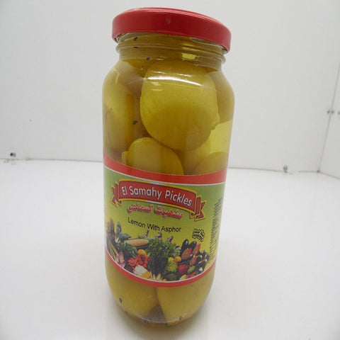 El Samahy Pickles, Lemon with Asphor, Product of Egypt, 35.3 oz