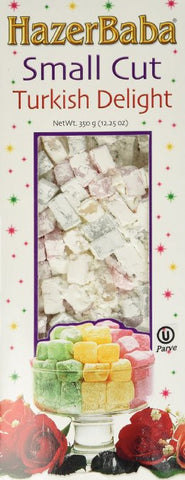 Hazer Baba Small Cut- Assorted Turkish Delight 350g(12.25oz)