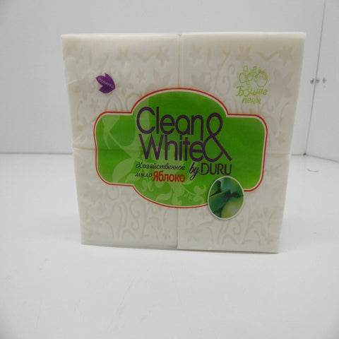 Clean & White, Apple Soap, 4 X 125 G, Duru