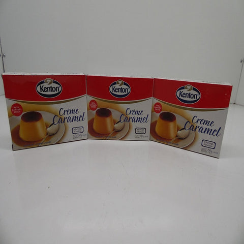 Kenton Creme Caramel with Caramel Sauce, Pack of 3