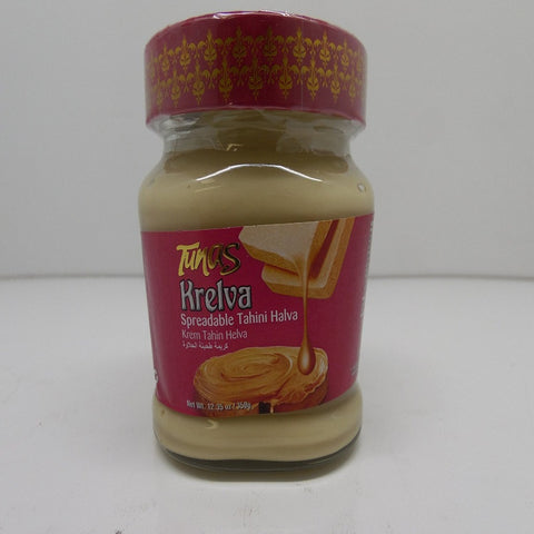 Tunas Krelva Spreadable Tahini Halva, Turkish, 12.35oz