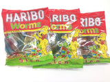 Haribo Gummi Candy, Worms, 160g x 30, Halal, 30 Packs, Solucan