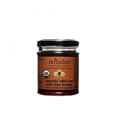 Ariadne Pure Organic Wild Raw Oak Tree Honey 8.8 oz 250 Gr