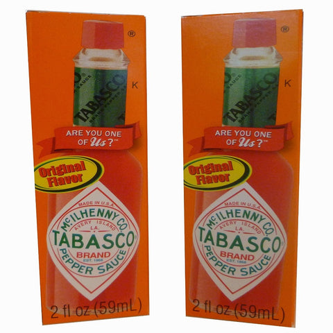 Tabasco Original 2oz. Flavor Pepper Sauce, 2 Pack