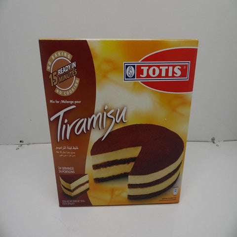 Jotis Tiramisu Mix, Makes 24 Portions, 23.8oz