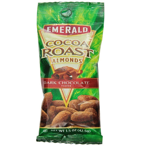 Emerald Cocoa Roast Almonds, 1.5-Ounce (Pack of 12)