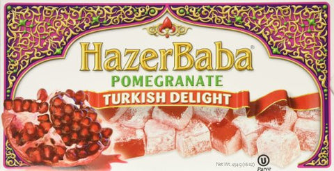 Hazer Baba Pomegranate Turkish Delight, 454 Gr