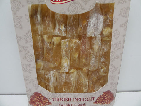 Nature's Turkish Delight W Hazelnut, 300 G