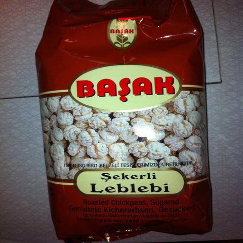 Basak Roasted Chickpeas ,Sugared (Sekerli Leblebi) 300 g