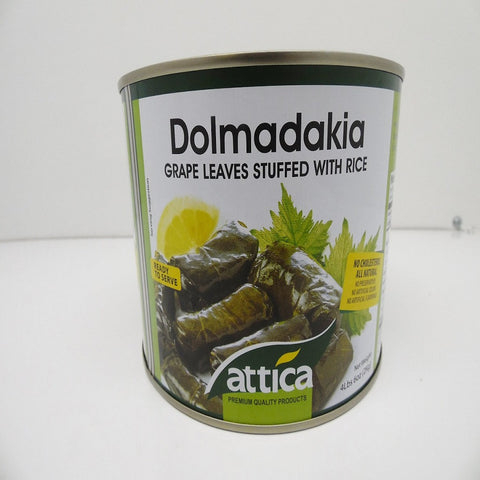 Dolmadakia Grape Leaves Stuffed w Rice, Ready to Serve, 4 lbs 6 oz