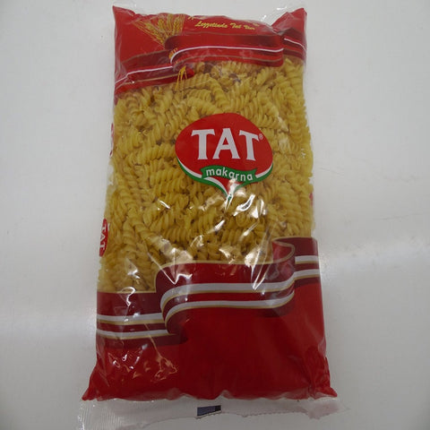 Tat Turkish Fusilli Pasta, Pack of 20 x 16 oz