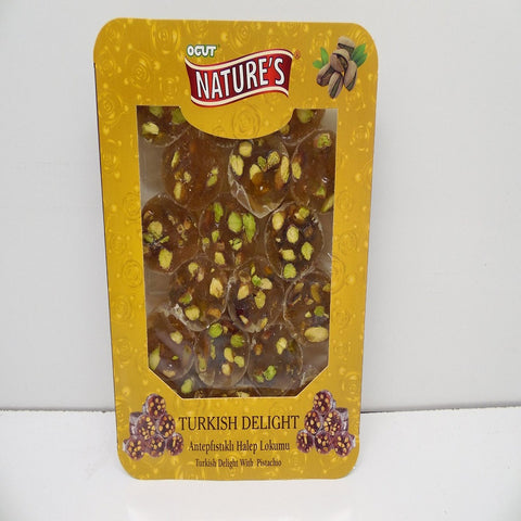 Nature's Turkish Halep Delight w Pistachio, 300 g