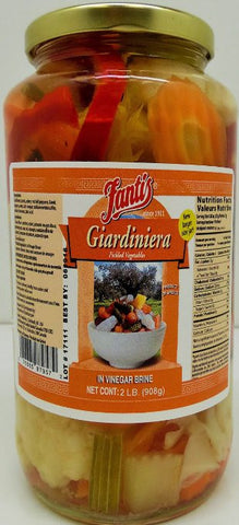 Fantis Giardinirera Pickled Vegetables 2 Lb