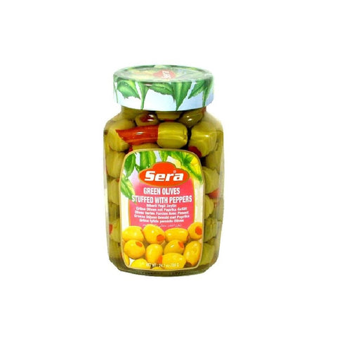 Green Olives with Peppers - 24 fl oz (720cc)