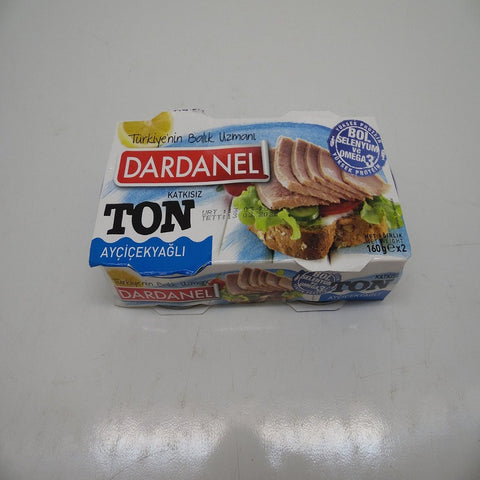 Dardanel Canned Tuna in Sunflower Oil 160gx2 Pack
