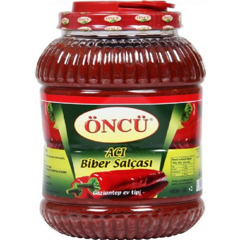 Oncu Biber Salcasi Aci / Pepper Paste Hot 4300 gr