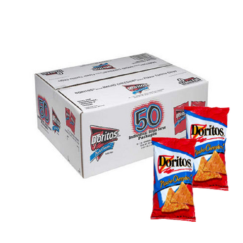 Doritos Nacho Cheesier Chips - 50 / 1 oz.